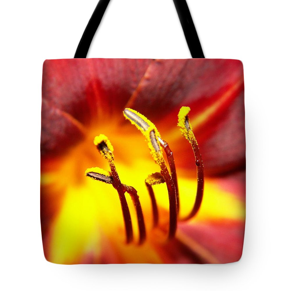Flower Tote Bag featuring the photograph Fire Lily by Amy Fose