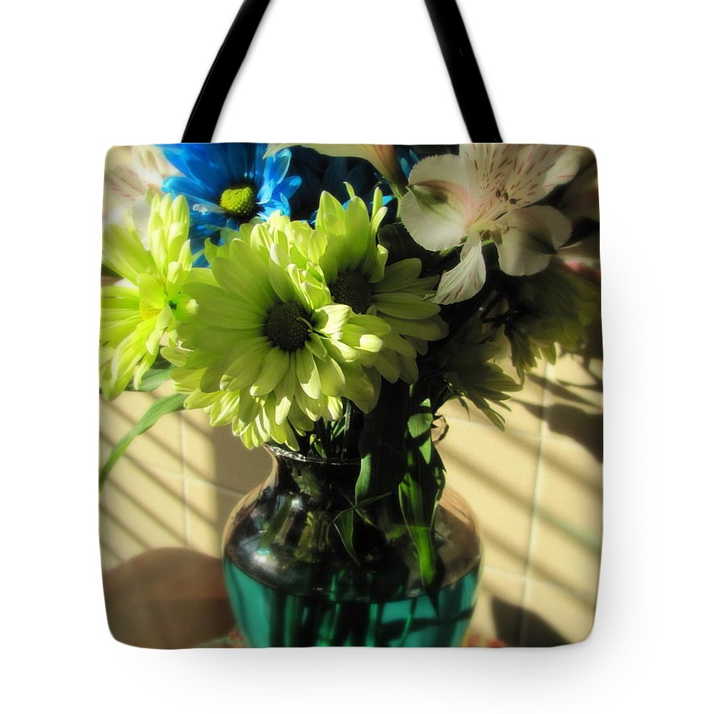 Flowers Tote Bag featuring the photograph Floral Bouquet 2 by Anita Burgermeister