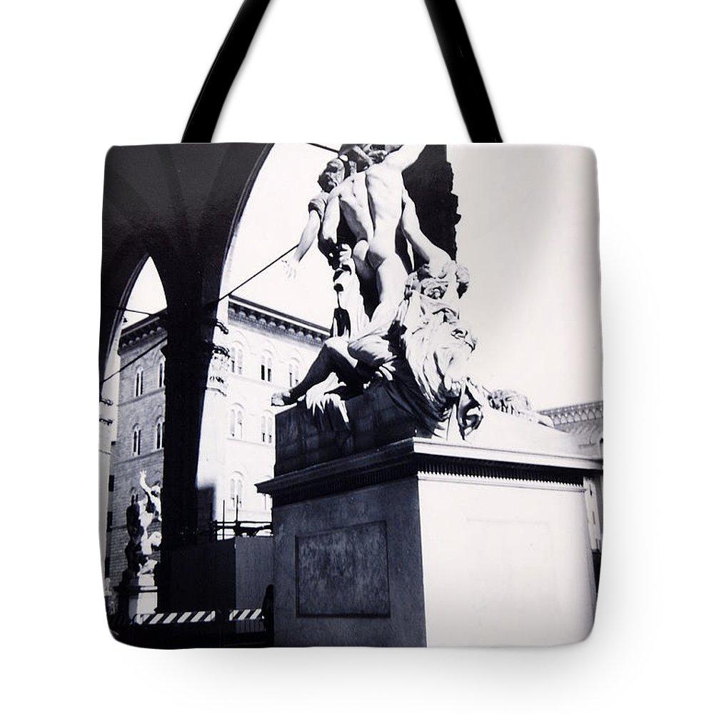Firenze Tote Bag featuring the photograph Florence by Kurt Hausmann