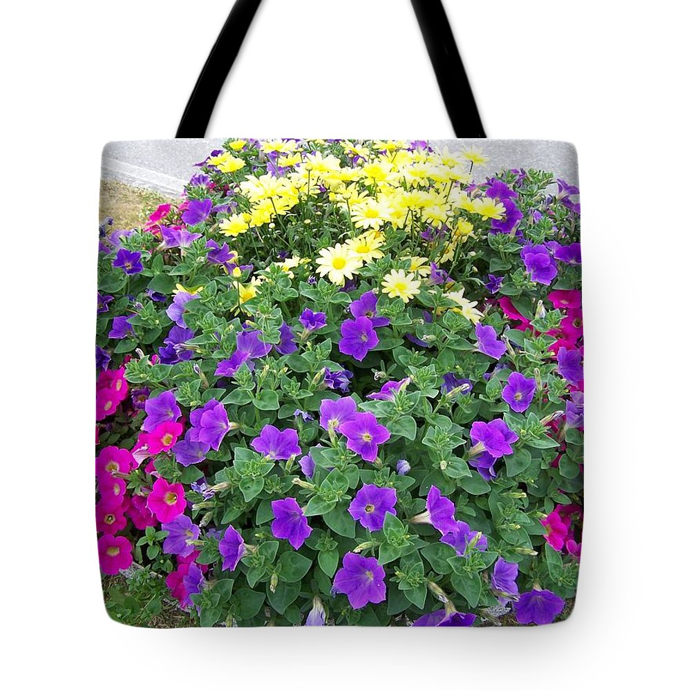 Flower Tote Bag featuring the photograph Flowers by Mariana Goia
