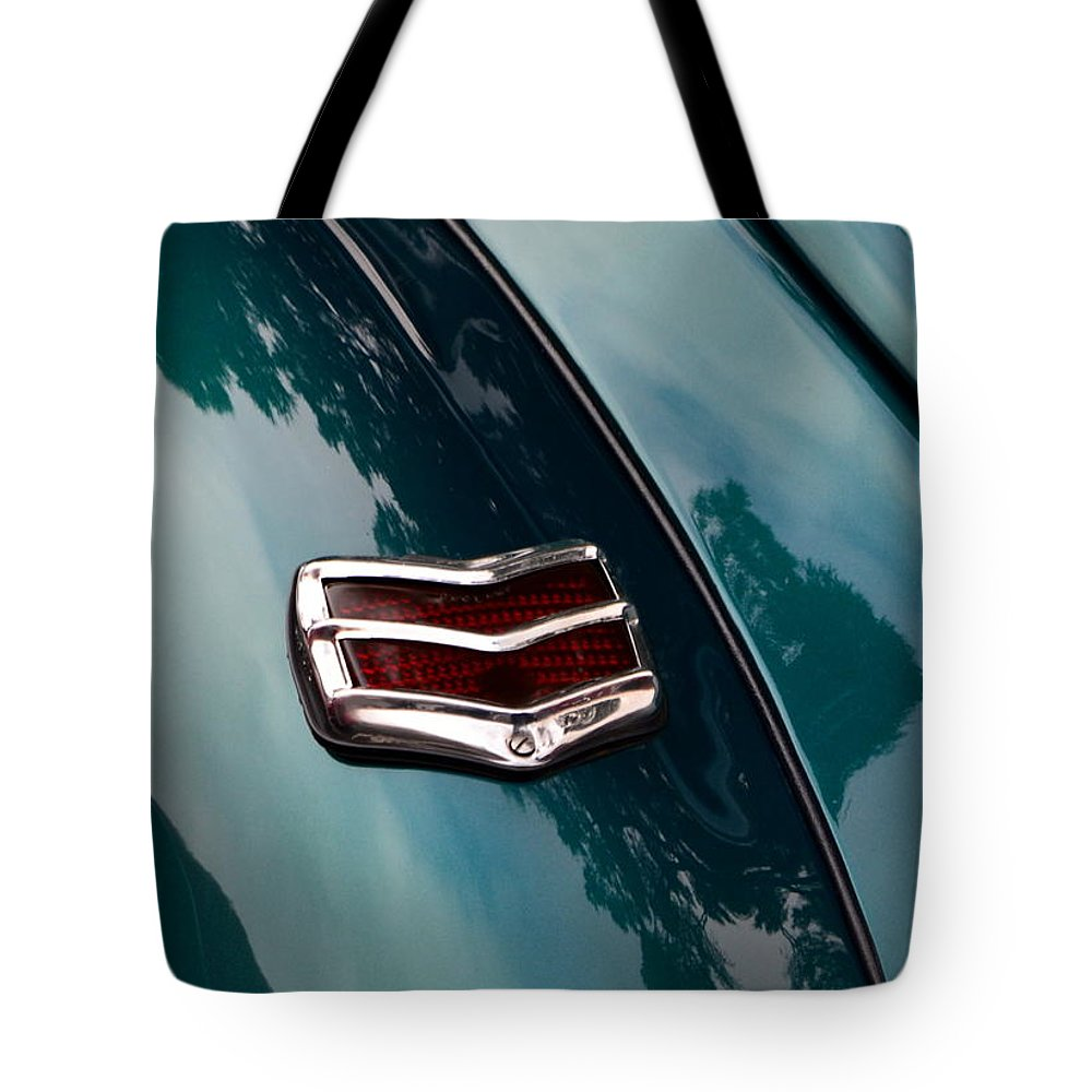 Tote Bag featuring the photograph Ford Taillight by Dean Ferreira