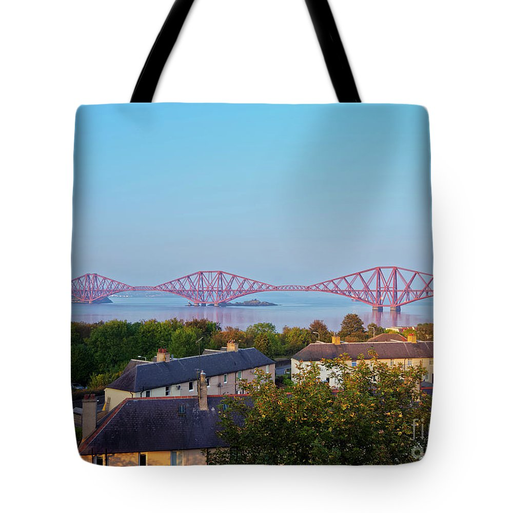Europe Tote Bag featuring the photograph Forth Bridge, Scotland by Karol Kozlowski