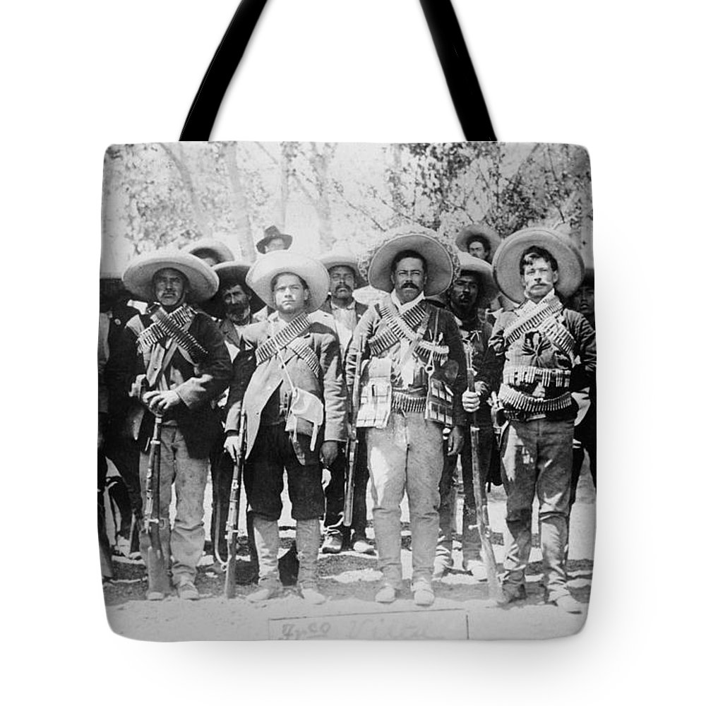 1913 Tote Bag featuring the photograph Francisco Pancho Villa by Granger