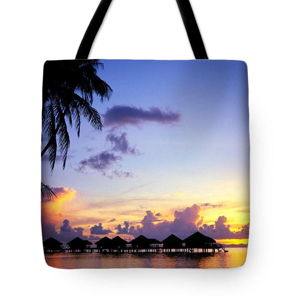 Beautiful Tote Bag featuring the photograph French Polynesia, Huahine by Rita Ariyoshi - Printscapes
