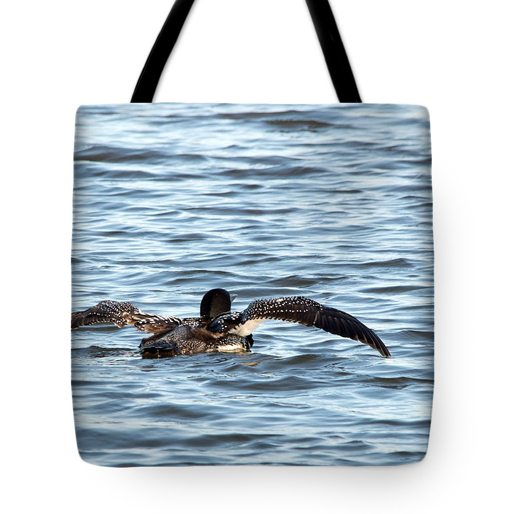 Seney National Wildlife Refuge Tote Bag featuring the photograph Getting Ready by Linda Kerkau
