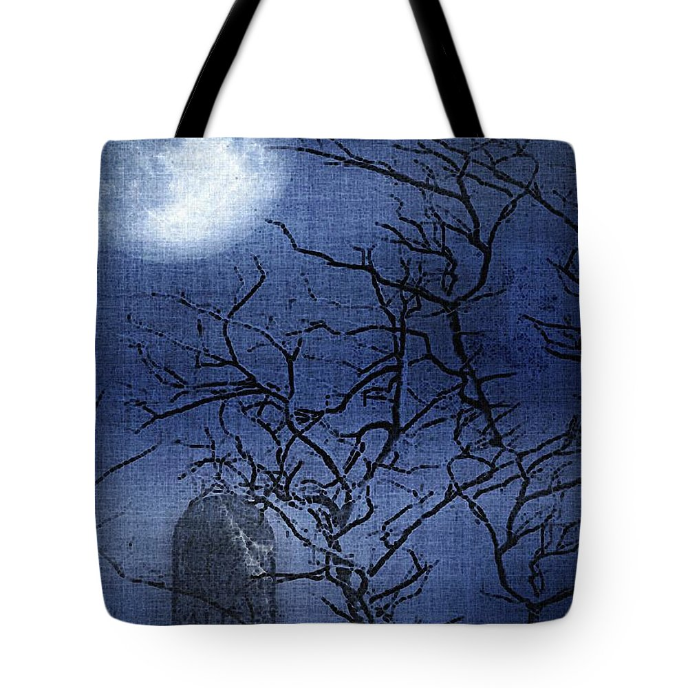Clouds Tote Bag featuring the painting Go Ask Alice by RC DeWinter