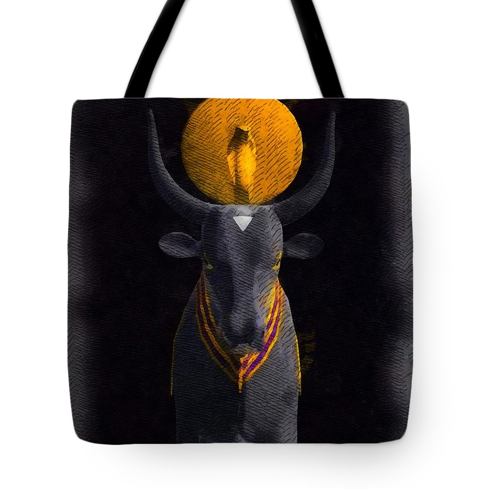 Gods Of Egypt Apis Tote Bag For Sale By Raphael Terra