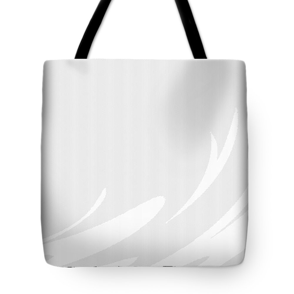 Green Tote Bag featuring the digital art Green by Lora Battle