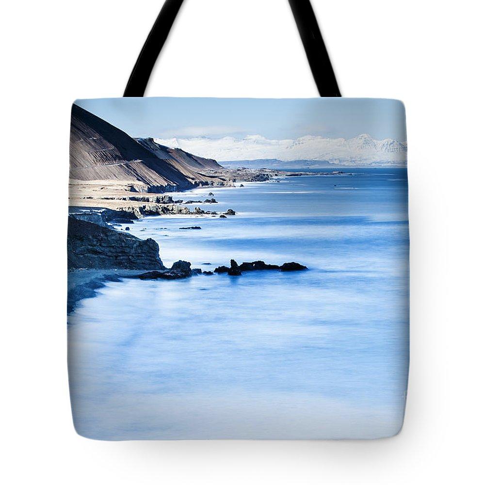 Iceland Tote Bag featuring the photograph Hamarsfjoriur Iceland by Gunnar Orn Arnason