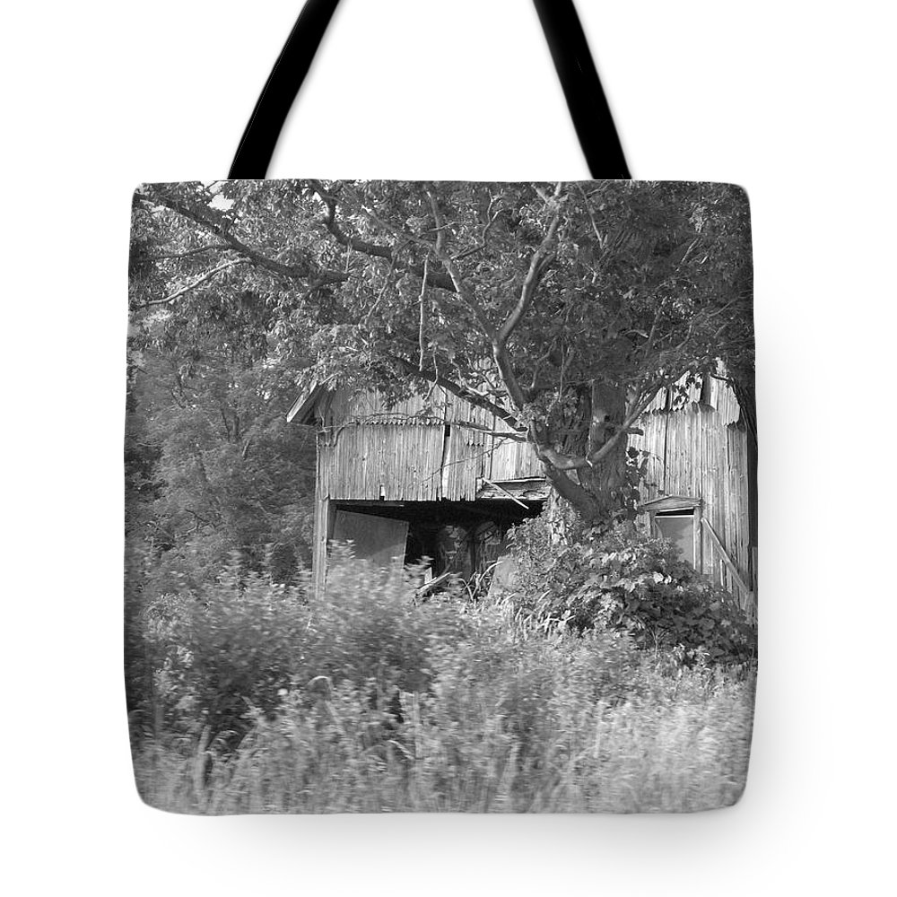 Country Tote Bag featuring the photograph Hidden by Rhonda Barrett