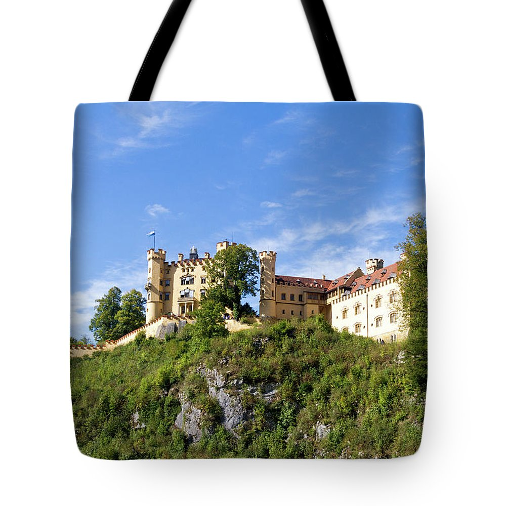 Schloss Tote Bag featuring the photograph Holenschwangau Castle 2 by Bernard Barcos