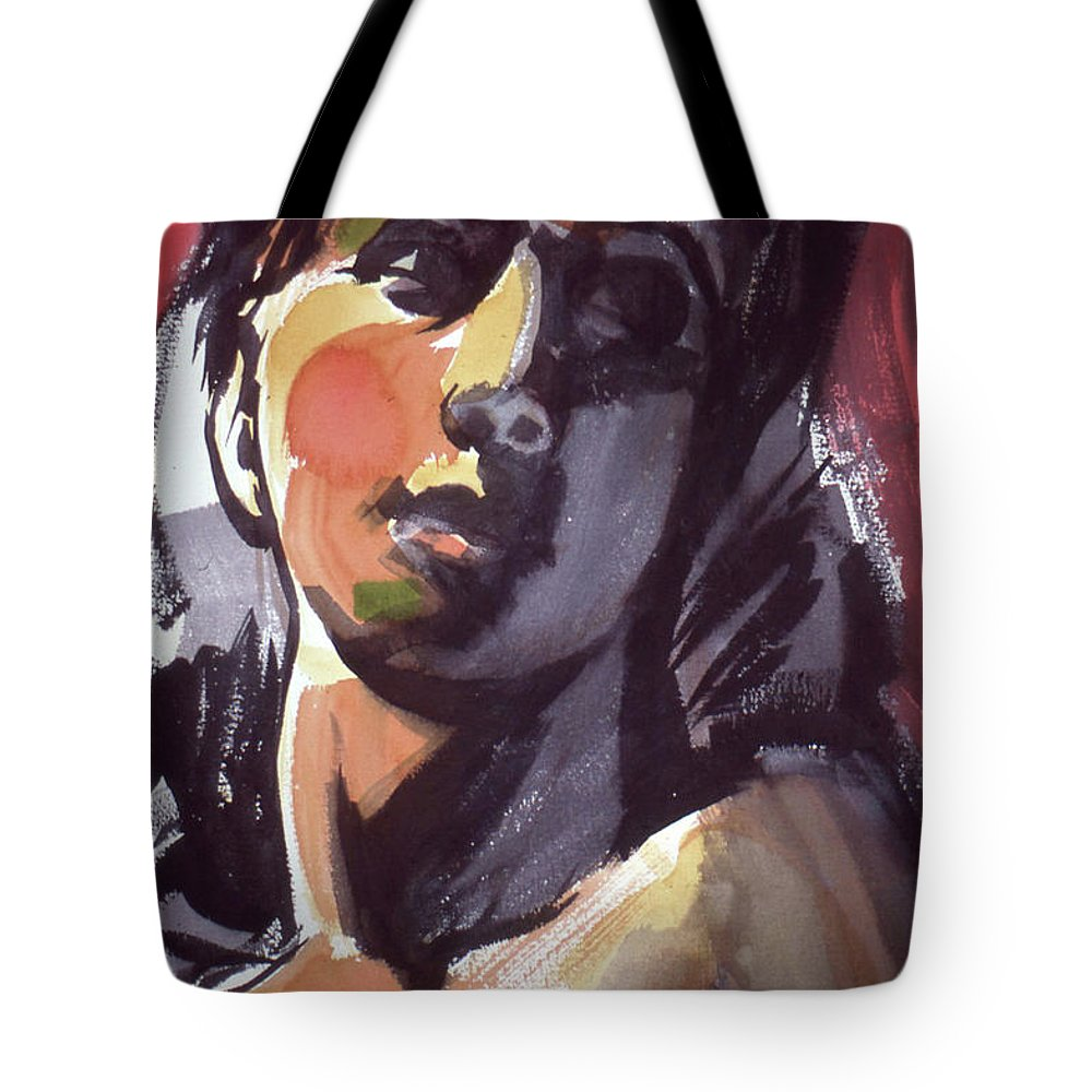Hope Tote Bag featuring the painting Hope by Lance Miyamoto