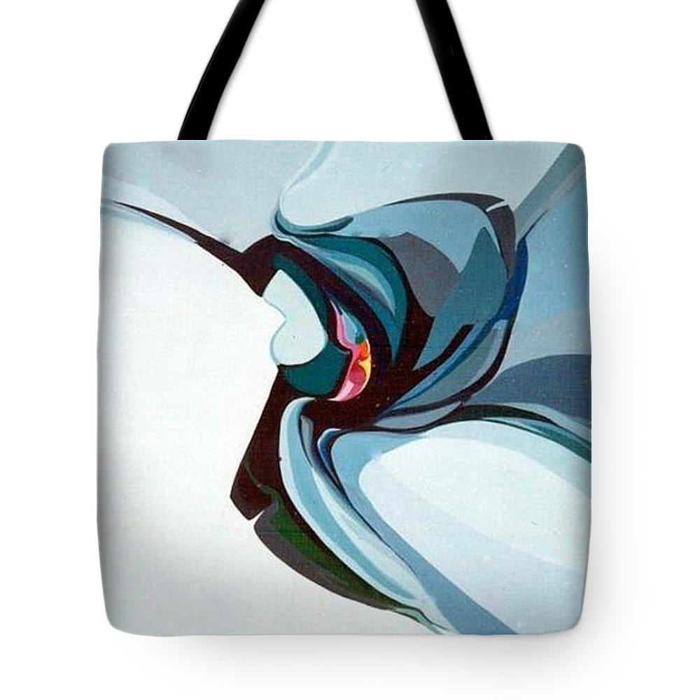 Bird Tote Bag featuring the painting Hummer by Marlene Burns