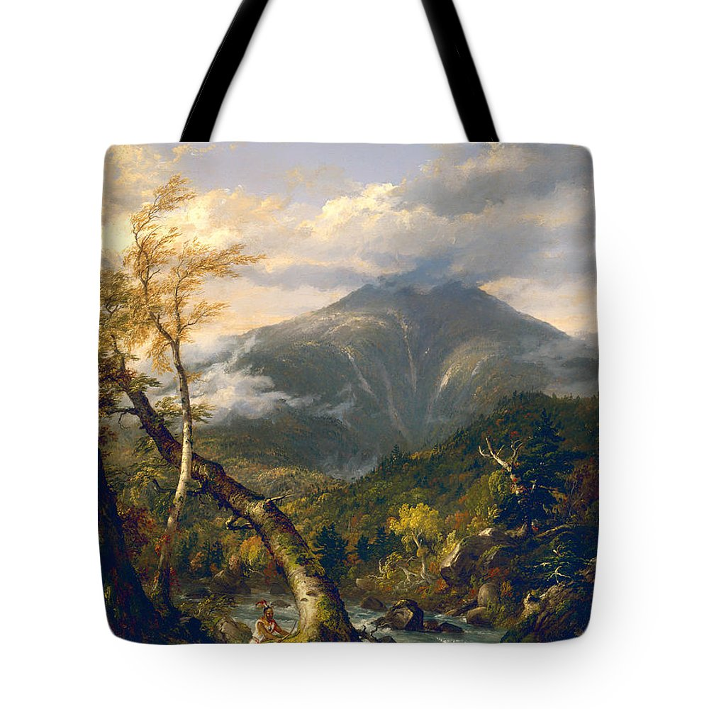 Painting Tote Bag featuring the painting Indian Pass by Mountain Dreams