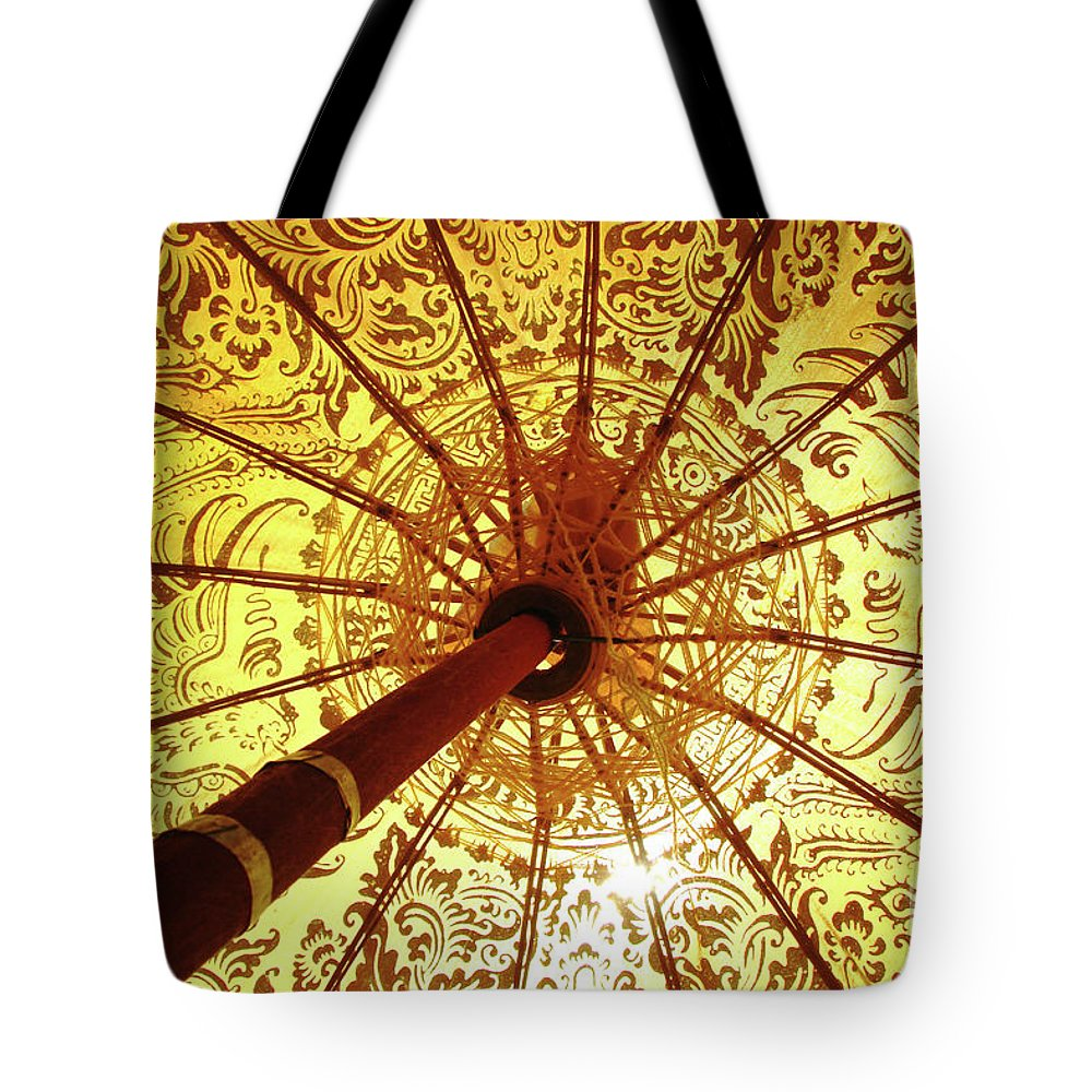 Yellow Tote Bag featuring the photograph Indian Summer by Delphimages Photo Creations