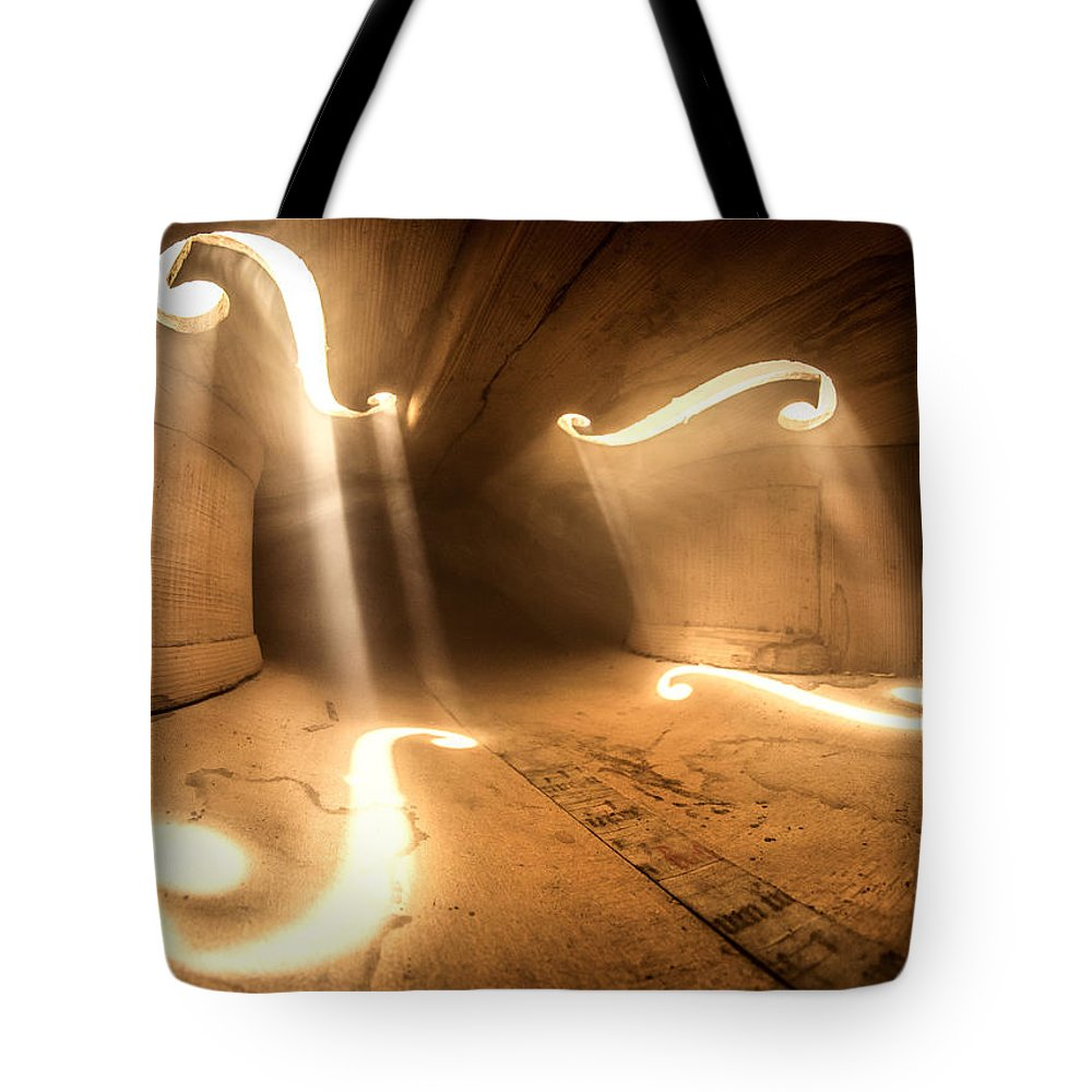 Instruments Photographs Tote Bags