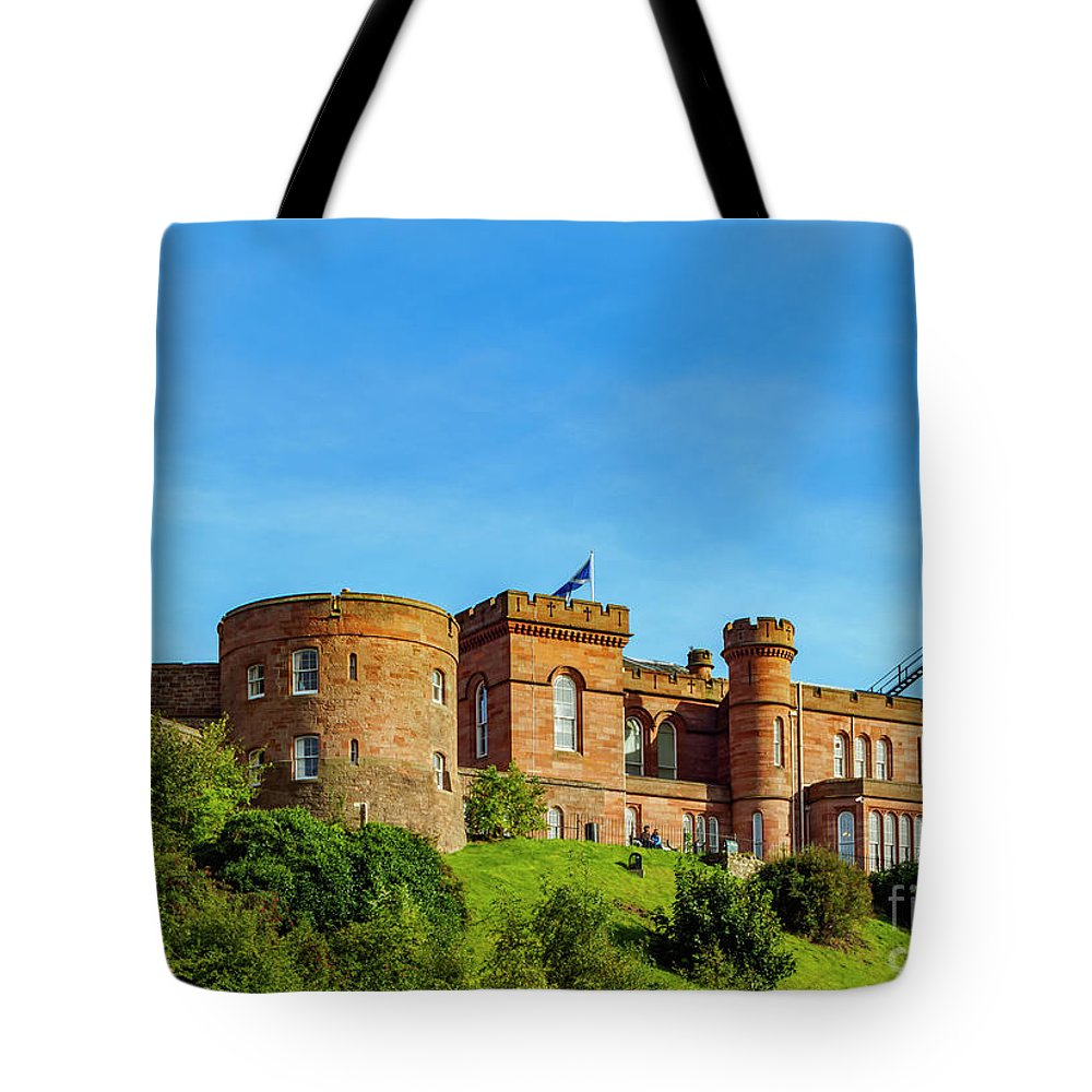 Inverness Tote Bag featuring the photograph Inverness Castle, Scotland by Karol Kozlowski