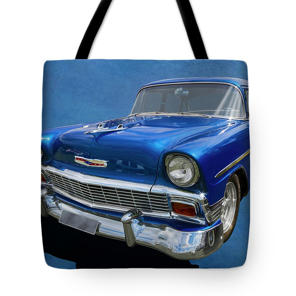 Car Tote Bag featuring the photograph It's A 56 by Keith Hawley