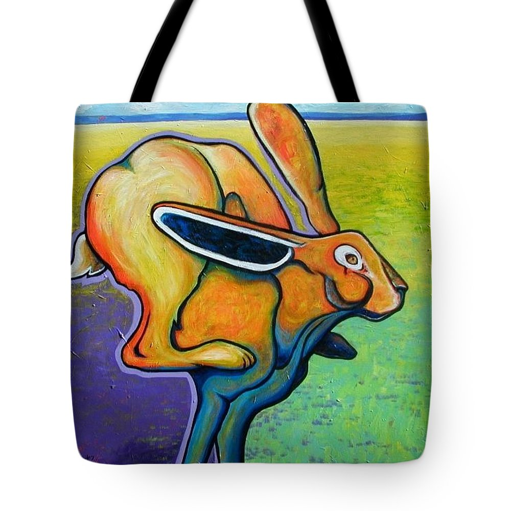 Wildlife Tote Bag featuring the painting Jacks Are Wild by Joe Triano