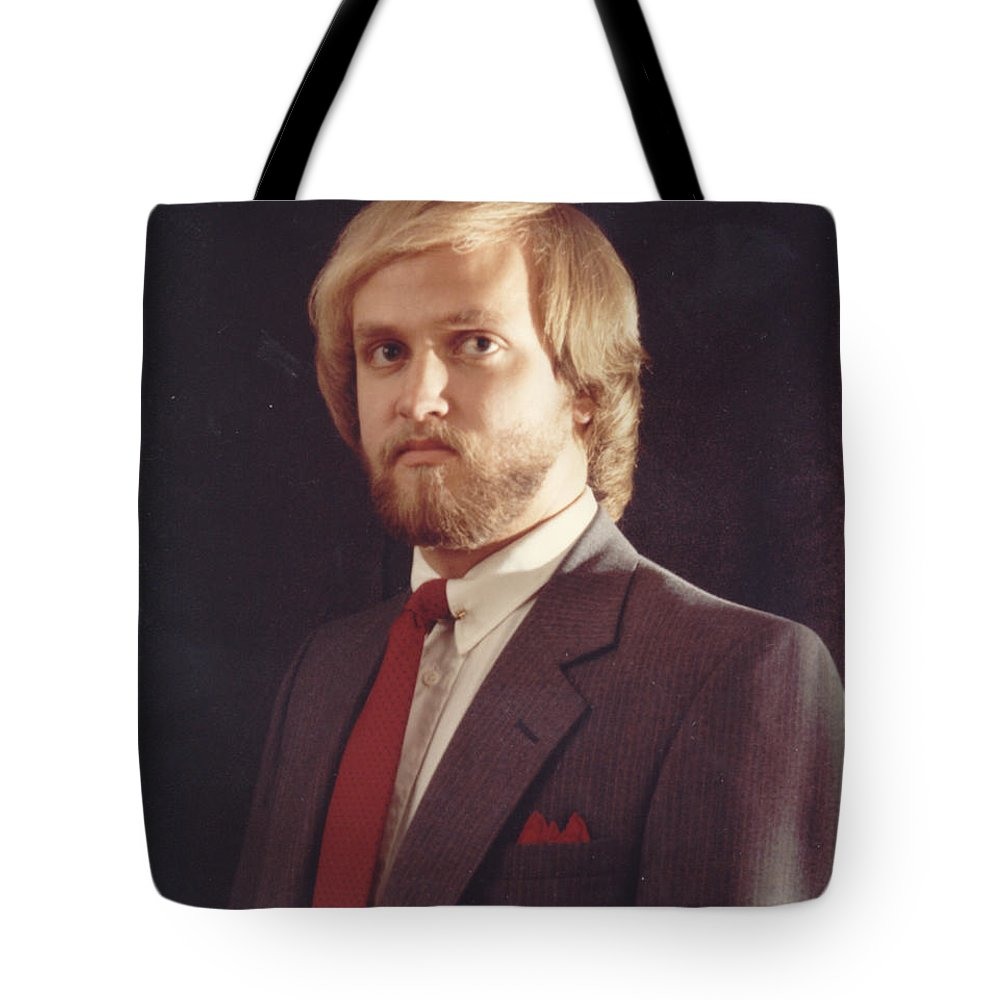 Portrait Tote Bag featuring the photograph jek by John Graziani