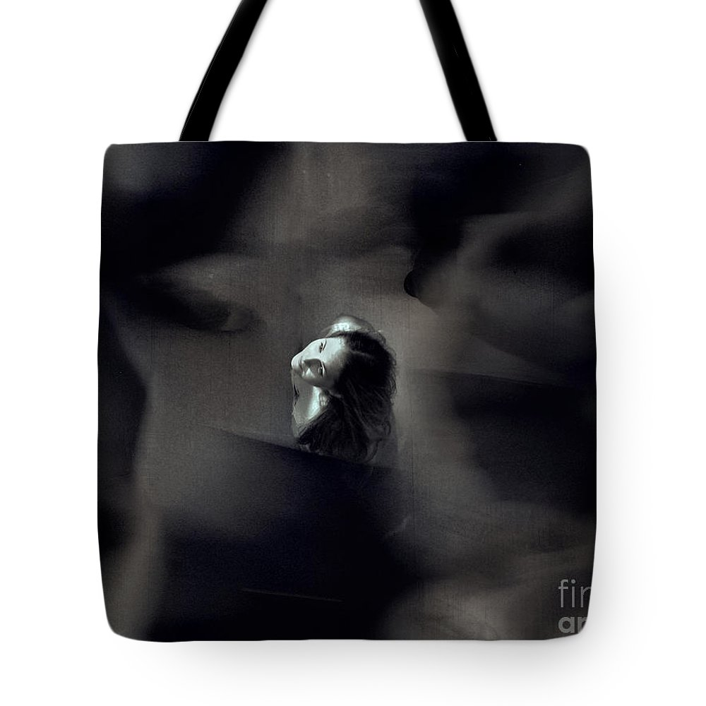 Street Tote Bag featuring the photograph Just For Today I Will Not Be Afraid by Dana DiPasquale