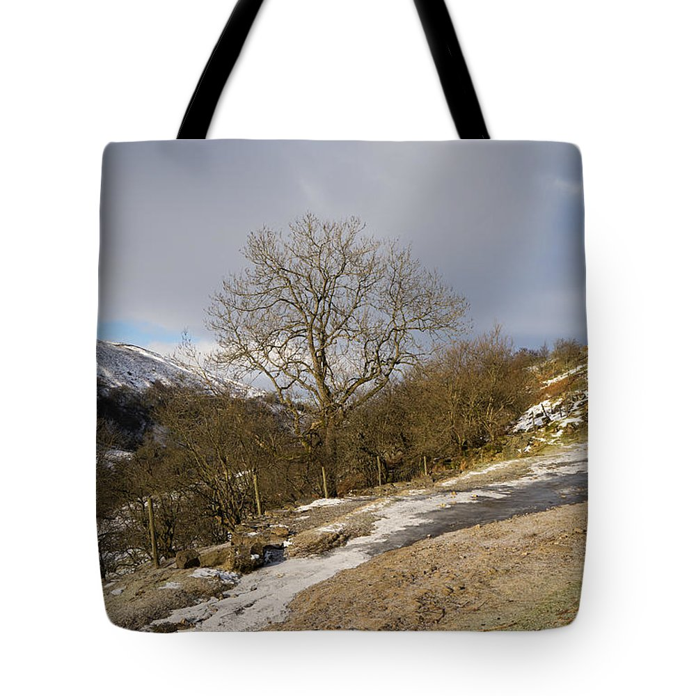 Dales Tote Bag featuring the photograph Keld To Muker by Smart Aviation