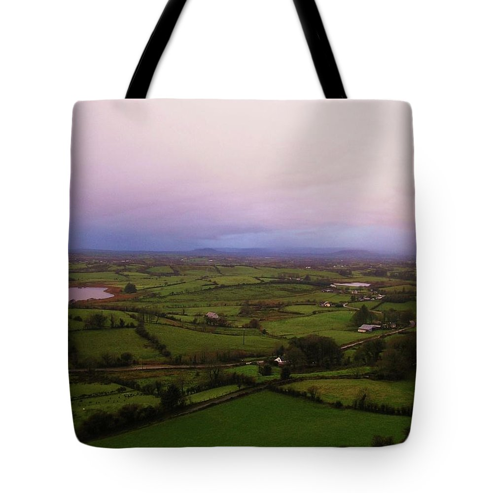 Landscape Tote Bag featuring the photograph Kesh Caves Co Sligo Ireland by Louise Macarthur Art and Photography