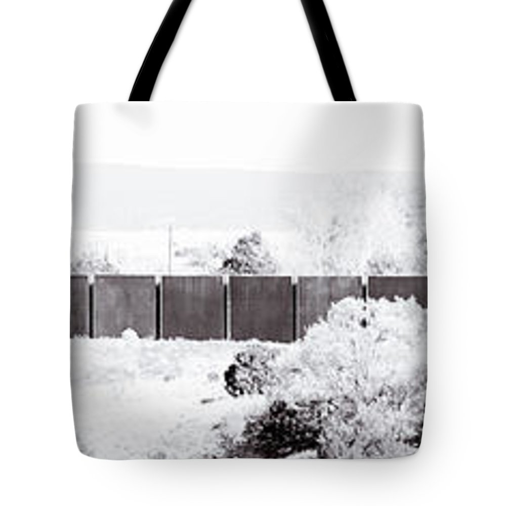 Calisteo Tote Bag featuring the photograph Landscape Galisteo Nm J10i by Otri Park