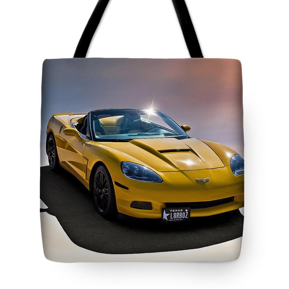 Custom Tote Bag featuring the digital art Later Boys by Douglas Pittman