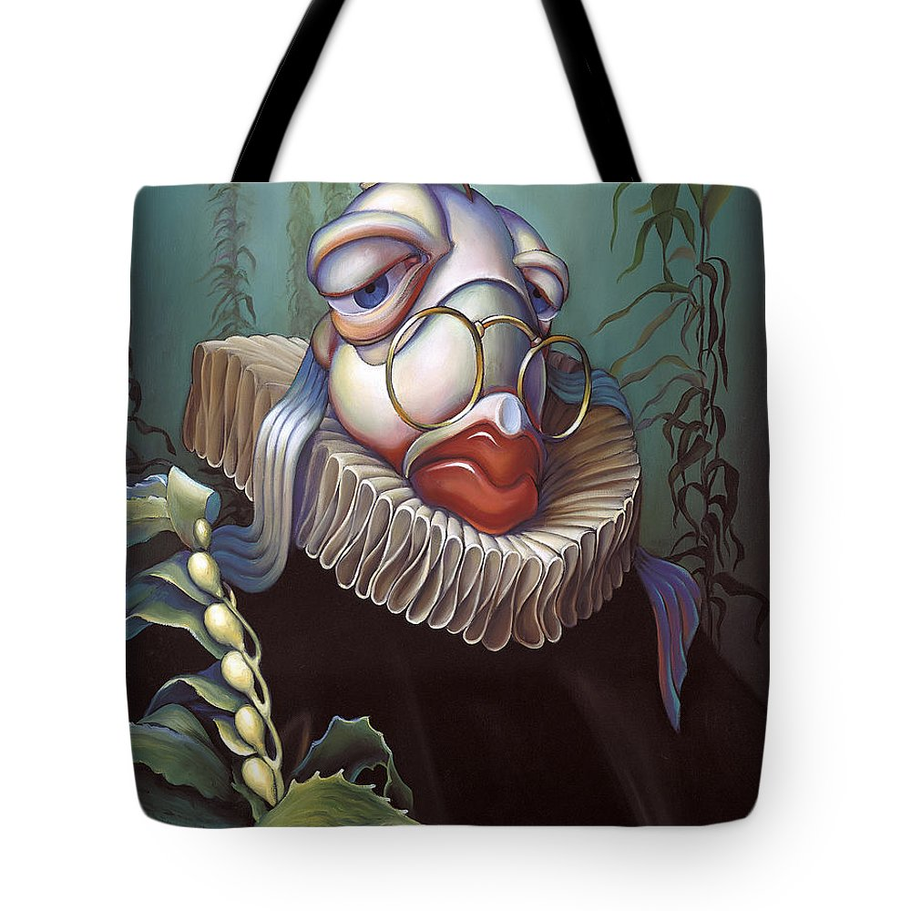 Court Tote Bag featuring the painting Marquis De Sole by Patrick Anthony Pierson