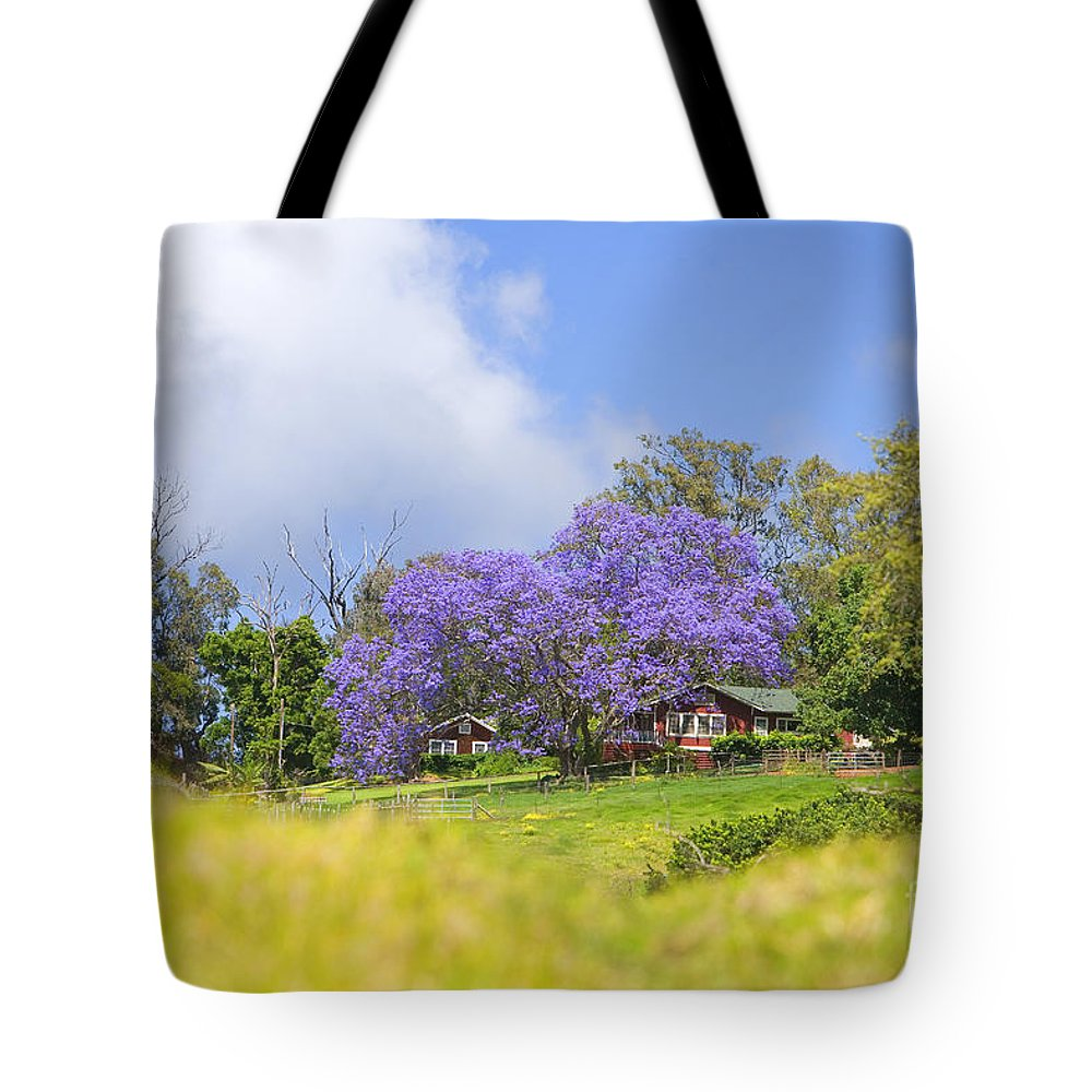 Afternoon Tote Bag featuring the photograph Maui Upcountry by Ron Dahlquist - Printscapes