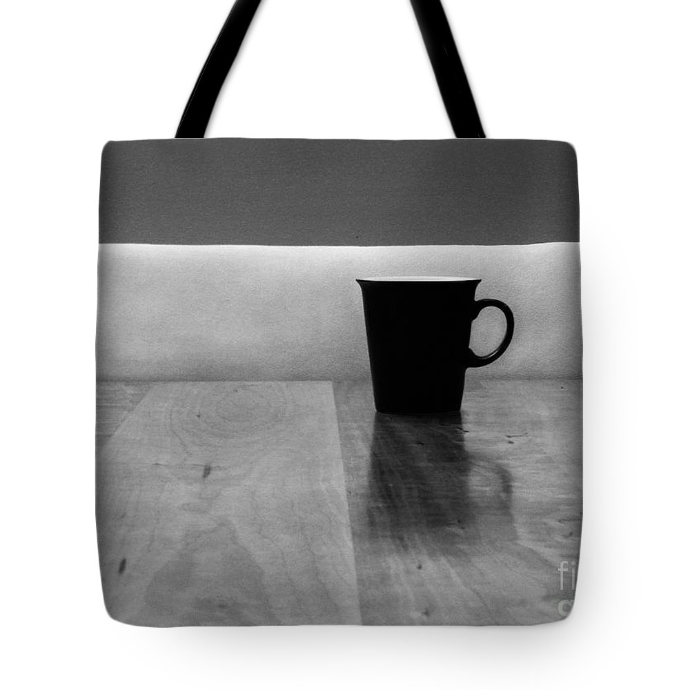 Black Tote Bag featuring the photograph Missing by Dana DiPasquale