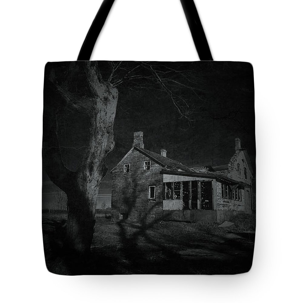 Night Tote Bag featuring the photograph Moonlight by Jim Vance