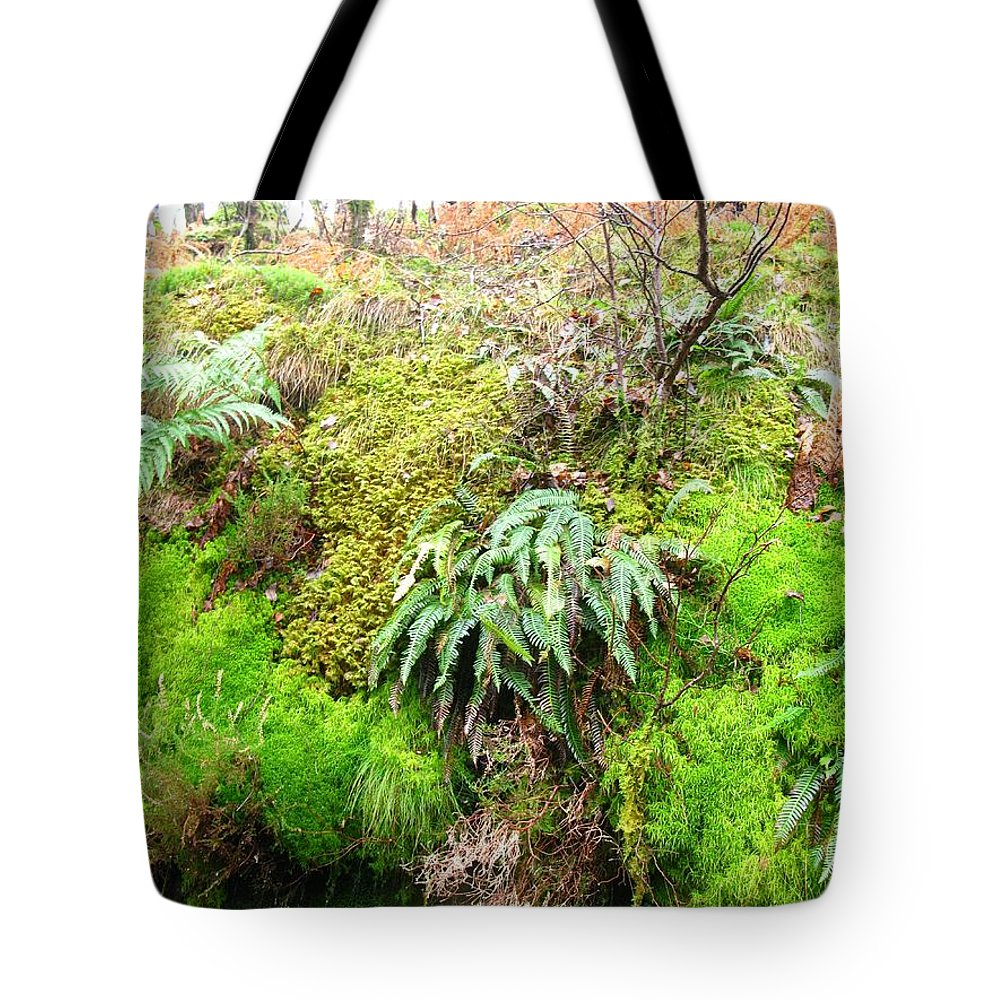 Scotland Tote Bag featuring the photograph Mossy by Maria Joy