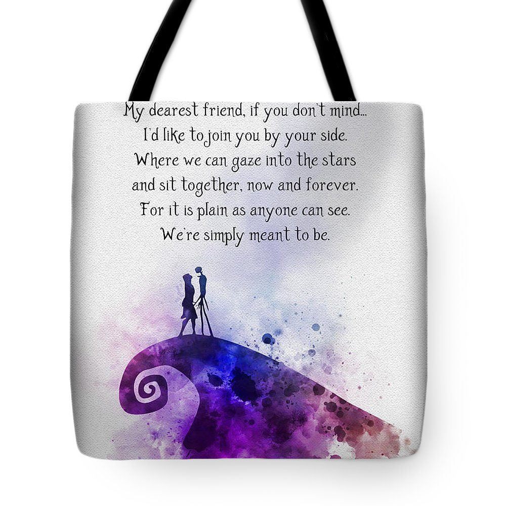 Gift Ideas Mixed Media Tote Bags