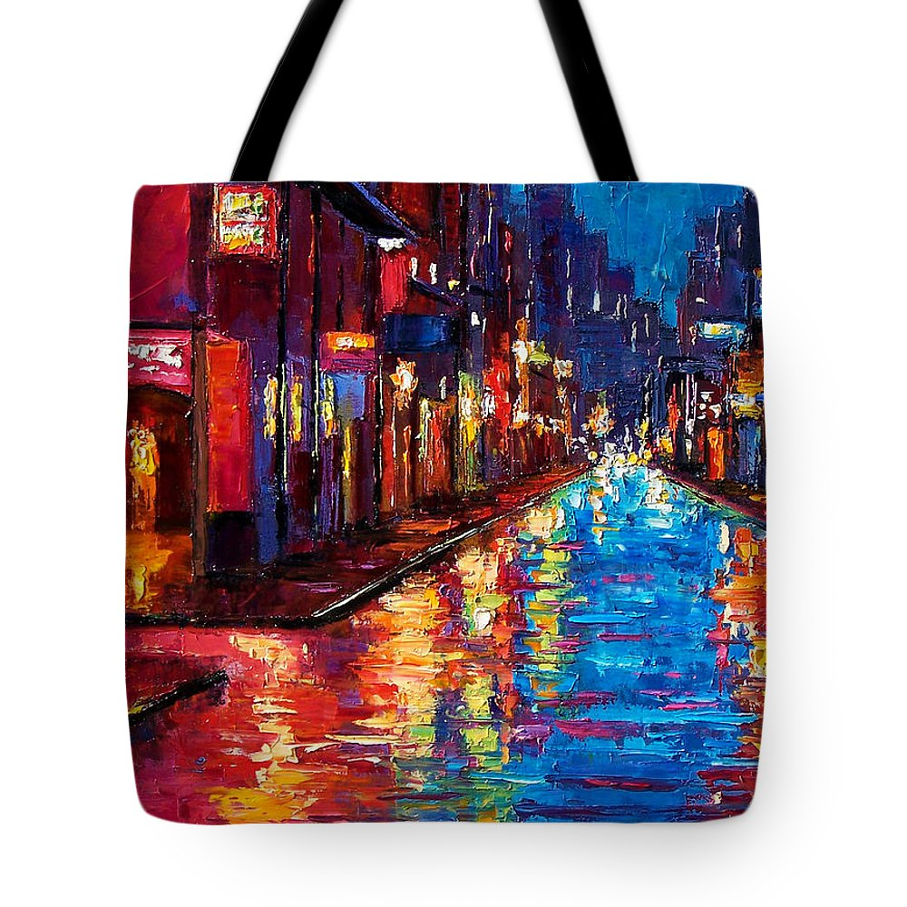 New Orleans Art Tote Bag featuring the painting New Orleans Magic by Debra Hurd