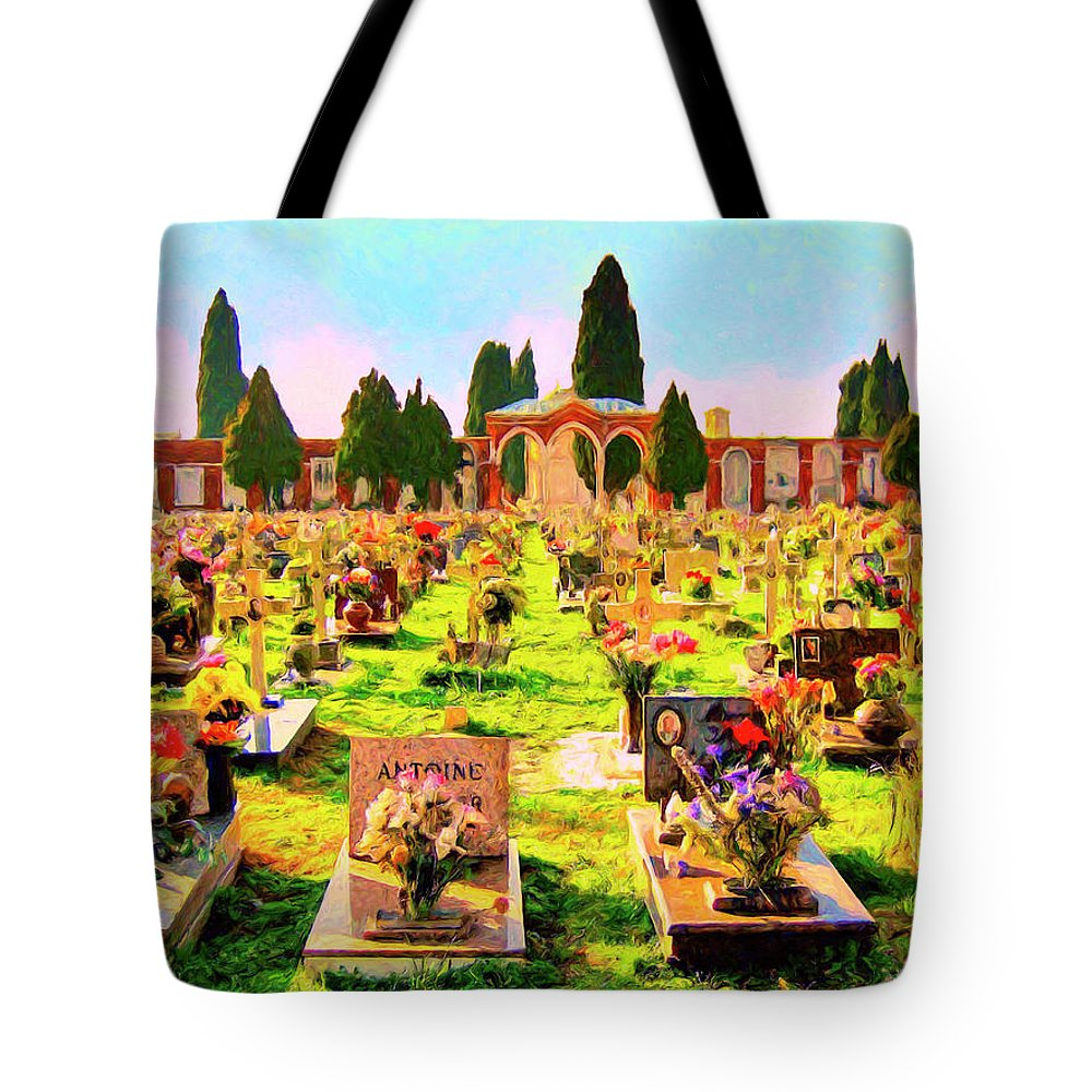 Memorial Park Tote Bag featuring the painting Not Forgotten by Dominic Piperata