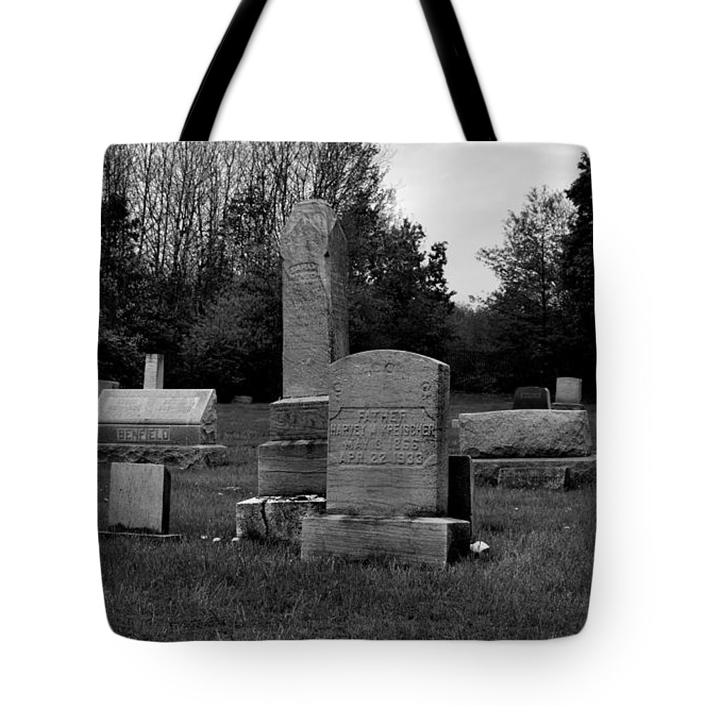 May Tote Bag featuring the photograph Odd Fellows Cemetery by Ben Schumin