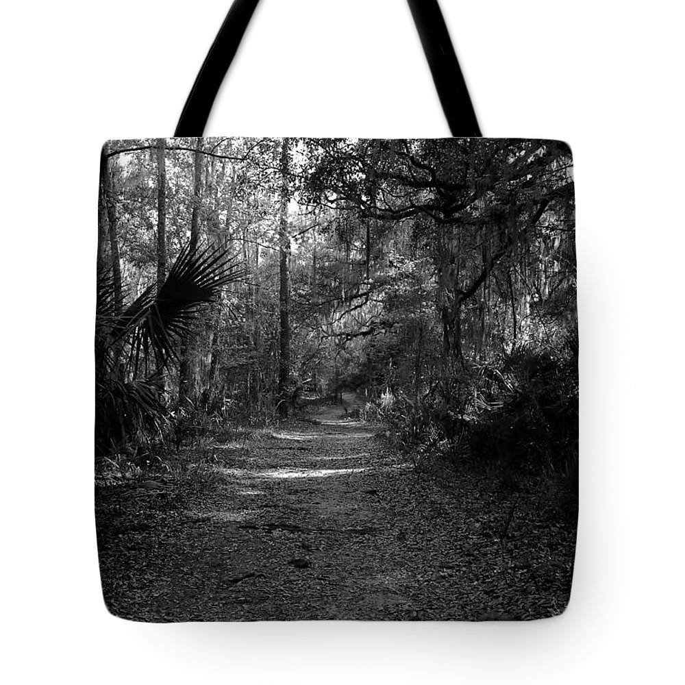 Road Tote Bag featuring the photograph Old Florida by David Lee Thompson
