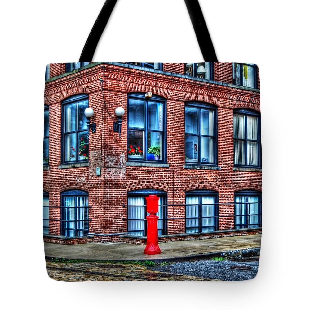 Brooklyn Tote Bag featuring the photograph Old World Brooklyn by Randy Aveille