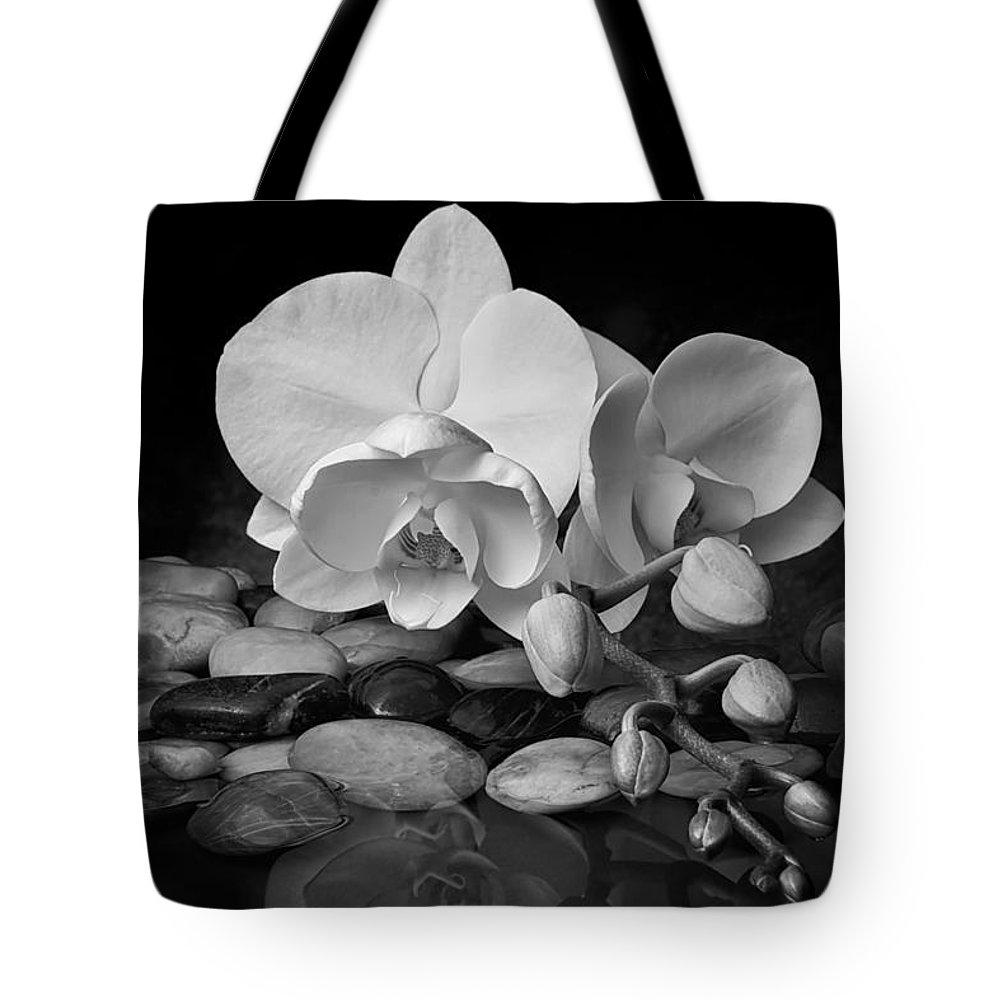 Arrangement Tote Bag featuring the photograph Orchid - Sensuous Virtue by Tom Mc Nemar