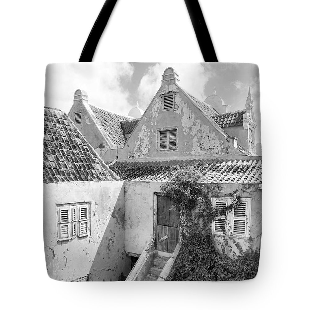 Architecture Tote Bag featuring the photograph Otrobanda Curacao by For Ninety One Days
