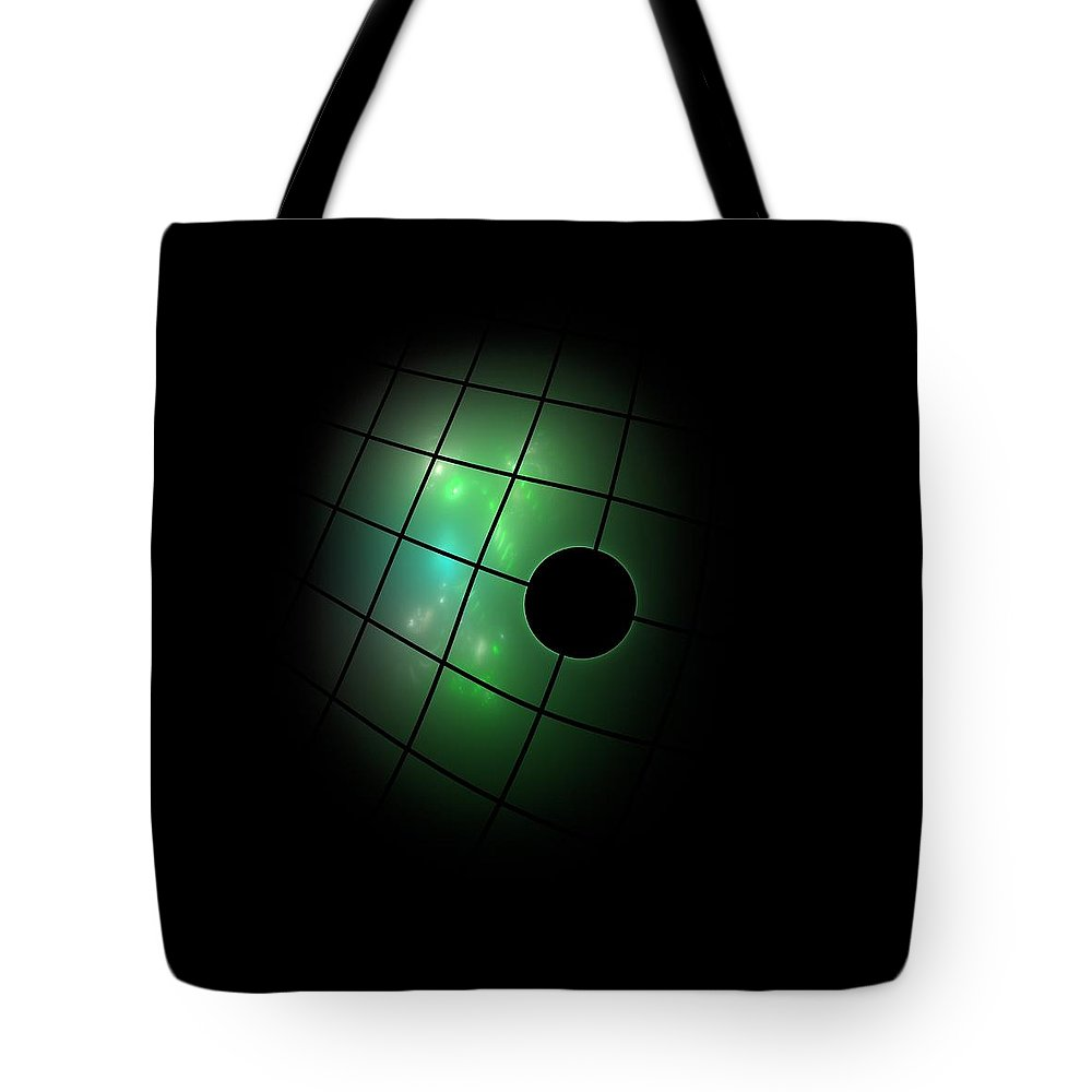 Dark Tote Bag featuring the painting Out Of The Dark by Steve K