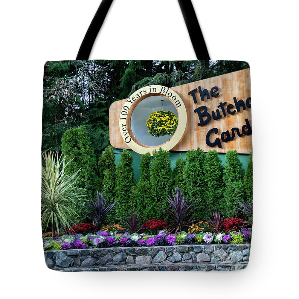 Outdoor Tote Bag featuring the photograph Over 100 Yrs In Bloom, Historic Garden Icon, The Butchart Gardens. by Andrew Kim