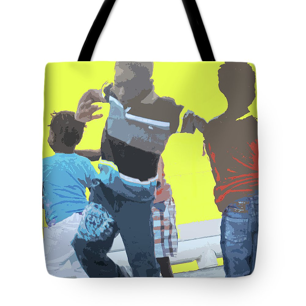 Children Tote Bag featuring the photograph Play by Ian MacDonald