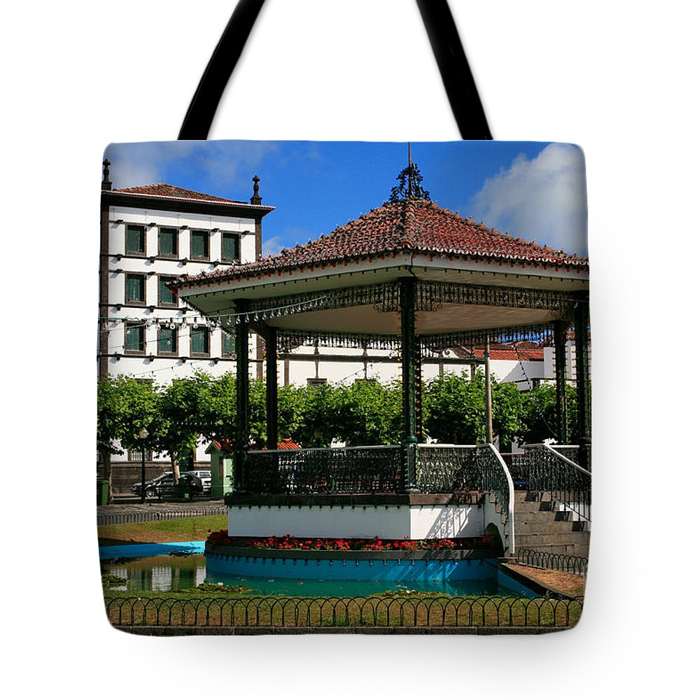 Europe Tote Bag featuring the photograph Ponta Delgada by Gaspar Avila