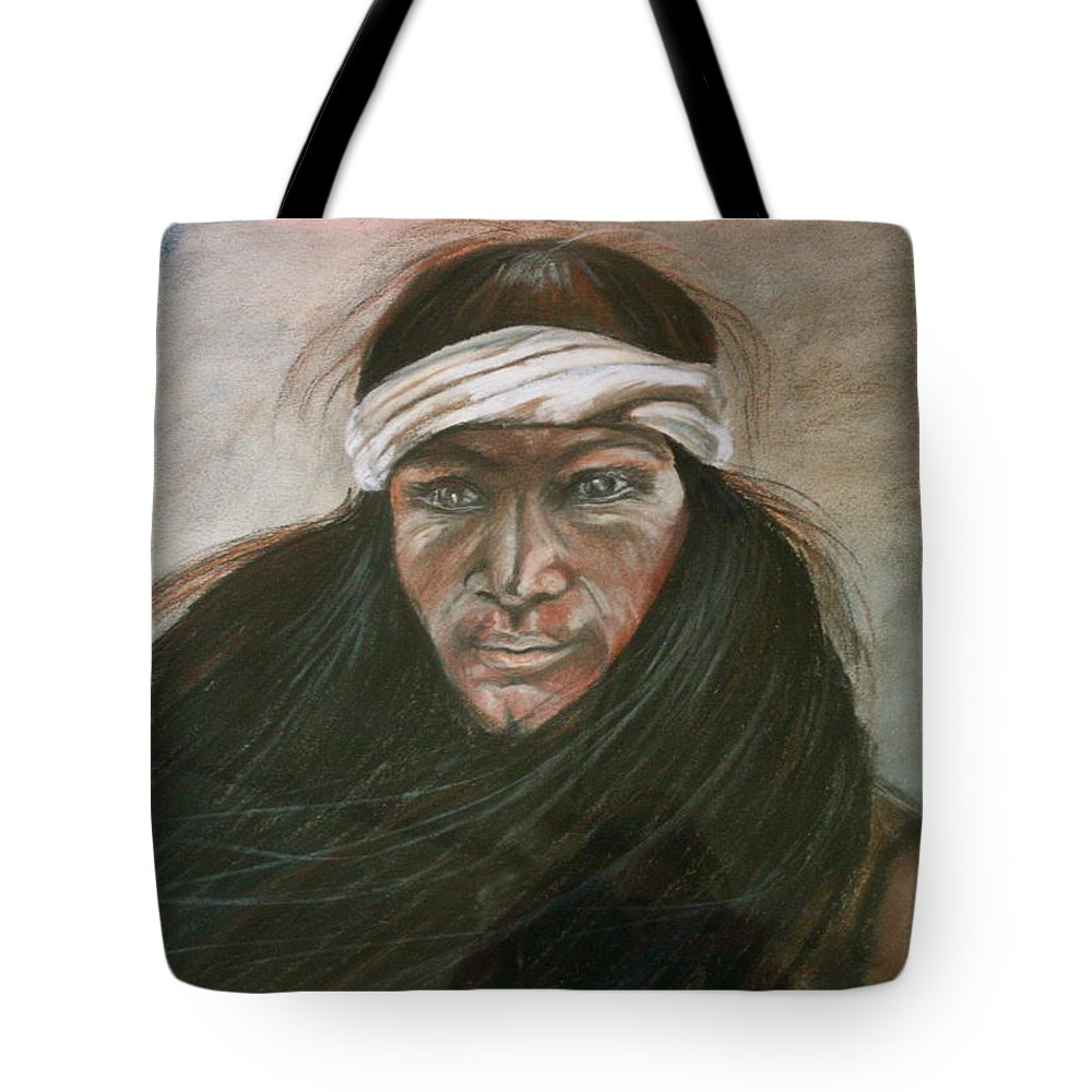 Tote Bag featuring the painting Prairie Wind by Donna Steward