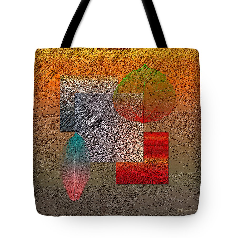 Abstracts By Serge Averbukh Tote Bag featuring the photograph Quiet Sunset at the End of Northern Summer by Serge Averbukh