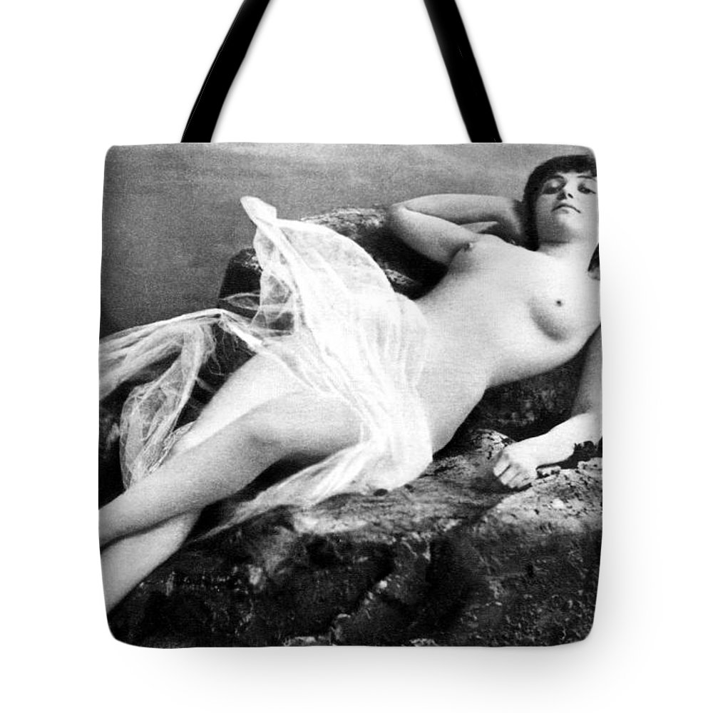 Tote Bag featuring the painting Reclining Nude, C1895 by Granger