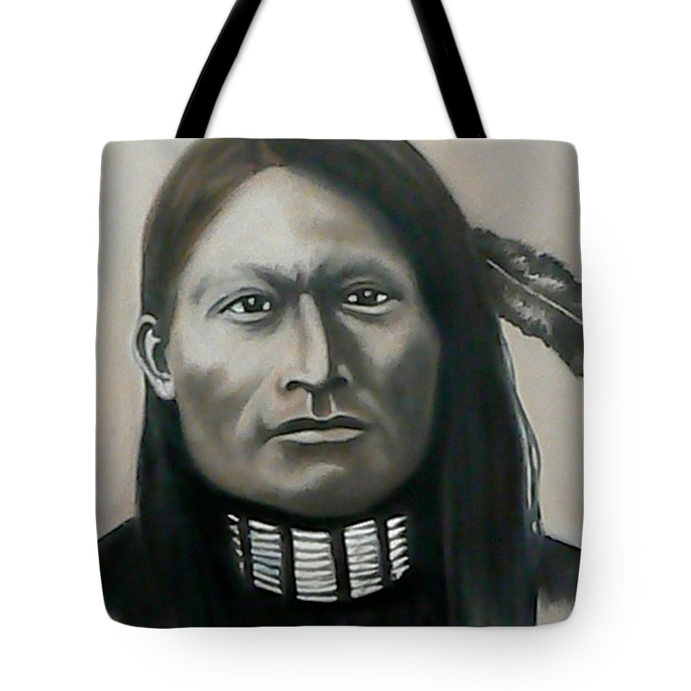 Red Armed Panther Tote Bag featuring the painting Red Armed Panther by Michael TMAD Finney